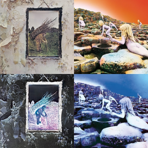 Led Zeppelin IV and Houses of the Holy (Rhino)